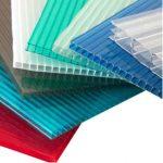 پلی کربنات در رنگ های متعدد